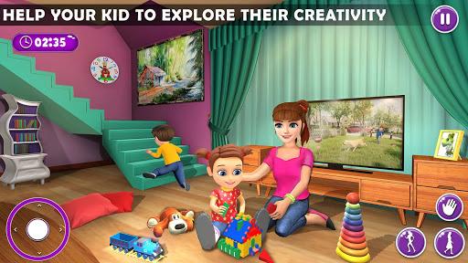 Virtual Mother New Baby Twins Family Simulator  screenshots 8