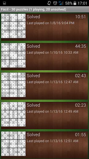 Sudoku classico screenshots 3
