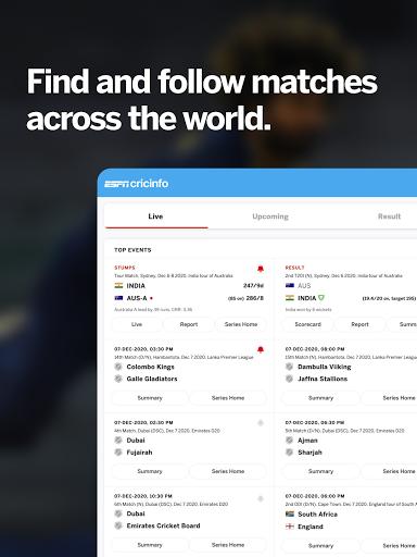 ESPNCricinfo - Live Cricket Scores, News & Videos 7.0 Screenshots 13