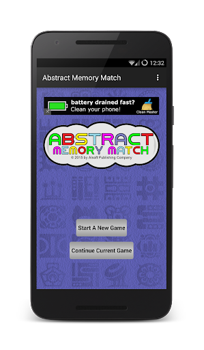 abstract memory match screenshot 1