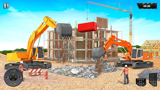 Heavy Excavator Crane Sim Game 2.2 screenshots 9