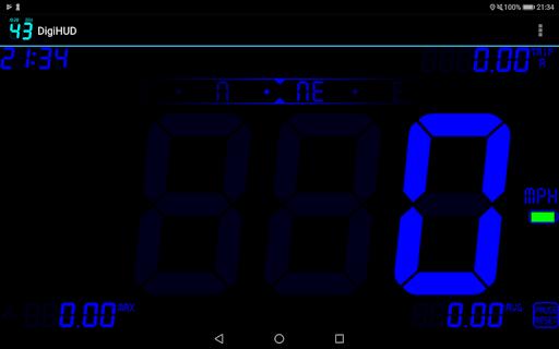 DigiHUD Speedometer 1.5.5 Screenshots 1