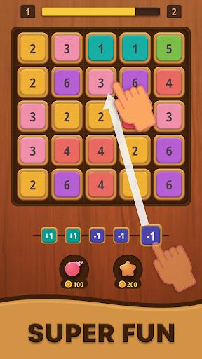 Mergezilla - Number Puzzle Apkfinish screenshots 1