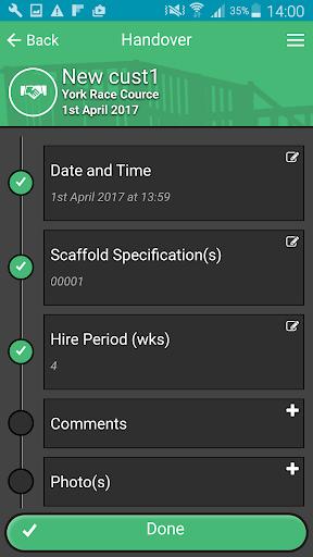 smart handover screenshot 2