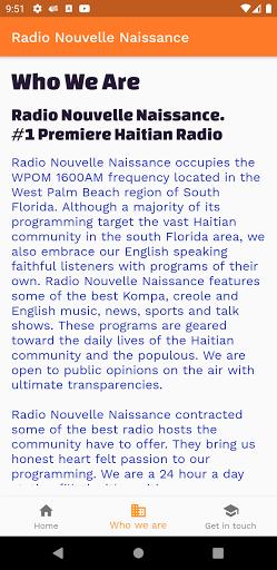 Radio Nouvelle Naissance screenshots 2