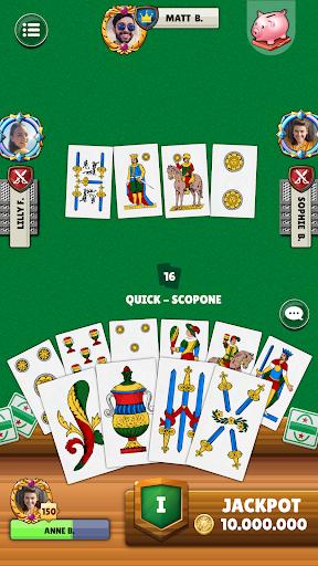 Scopa - Free Italian Card Game Online  screenshots 4