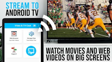 Video & TV Cast for Android TV