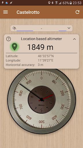 Accurate Altimeter 2.2.23 Screenshots 1