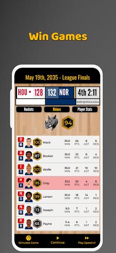 Ultimate Basketball General Manager - Sport Sim 1.2.1 screenshots 15