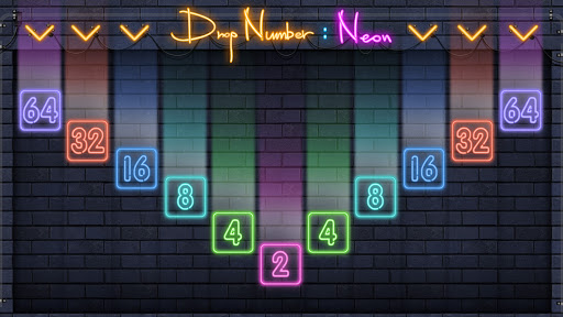 Drop Number : Neon 2048 1.0.5 screenshots 1