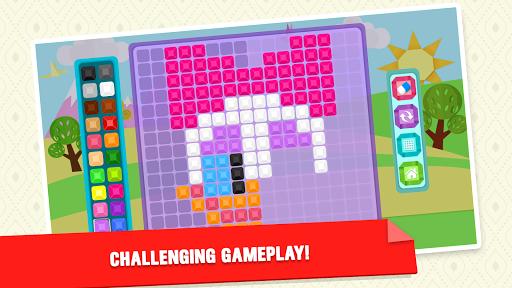 Mirror Mosaic : Symmetry Puzzles  screenshots 6
