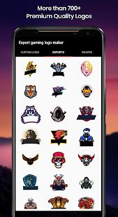 eSports gaming logo maker with name - Free 3.0 Screenshots 2