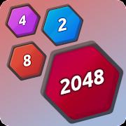 Number Merge 2048 - 2048 hexa puzzle Number Games