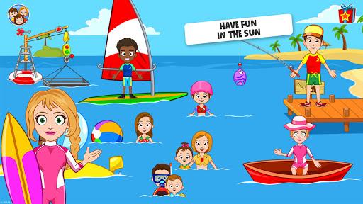 My Town : Beach Picnic Games for Kids  screenshots 9