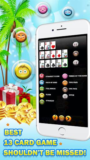 Chinese Poker - Multiplayer Pusoy, Capsa Susun 2.1 screenshots 1