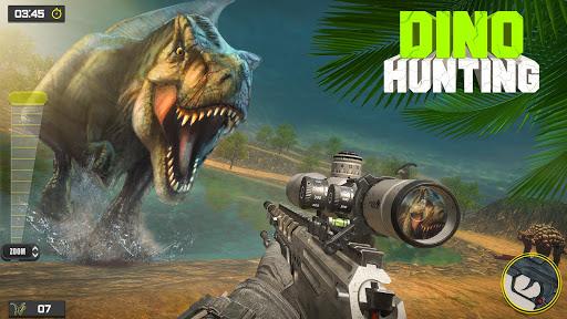 Dino Hunter Sniper Shooter: FPS Gun Shooting Game apkdebit screenshots 1