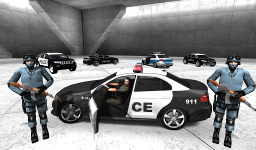 Police Car Racer 3D 12 screenshots 2