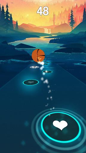 believer - imagine dragons rush tiles magic hop screenshot 3