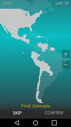 World Map Quiz 2.17 screenshots 2