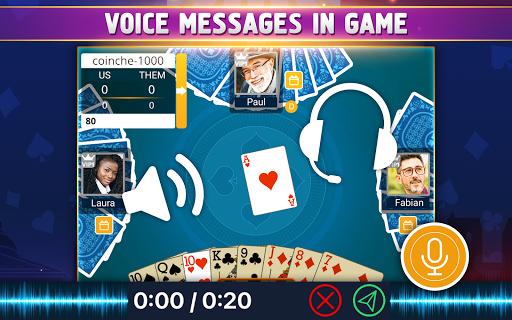 VIP Belote - French Belote Online Multiplayer Apkfinish screenshots 13