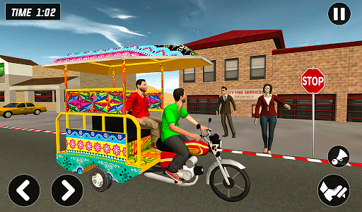 Chingchi Rickshaw Game:Tuk Tuk Parking Simulator screenshots 11