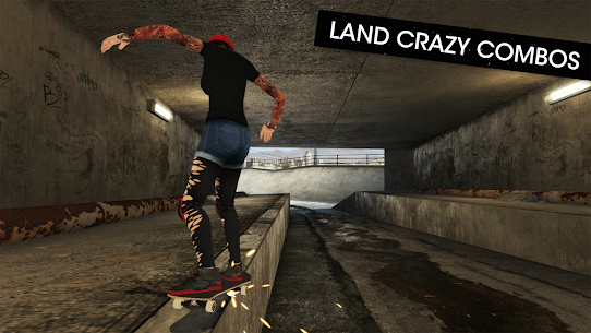 Skateboard Party 3 MOD (Unlimited Experience) 4