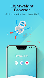 Firefox Lite — Fast and Lightweight Web Browser 2.6.1 Apk + Mod 2
