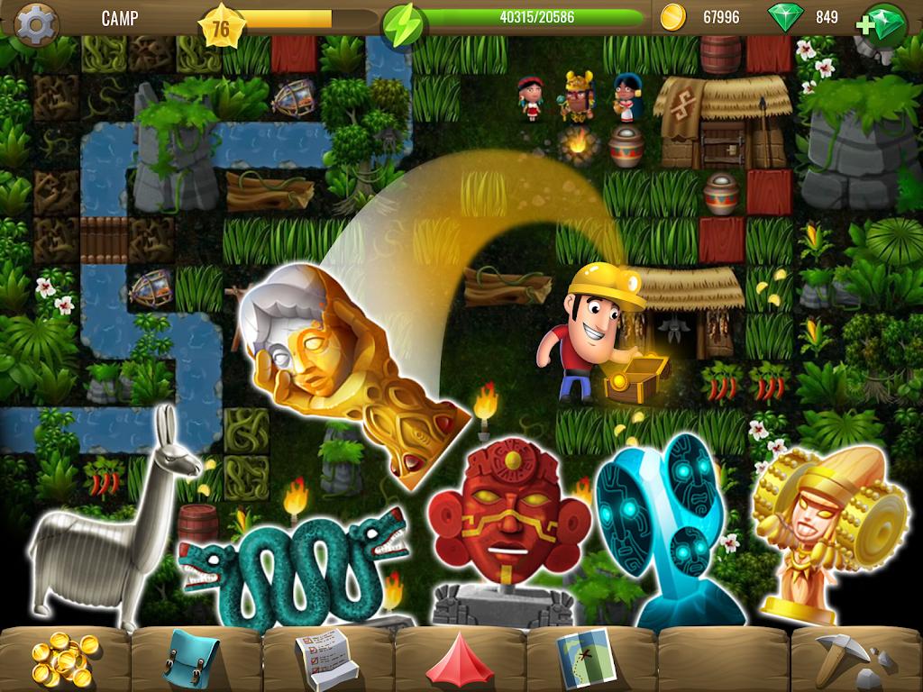 Diggy's Adventure: Maze Games poster 8