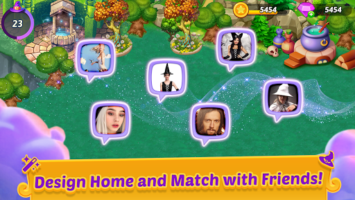 Merge Witches - merge&match to discover calm life 1.6.0 screenshots 5