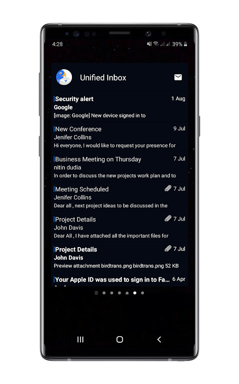 Bird Mail Pro -Email App  poster 9
