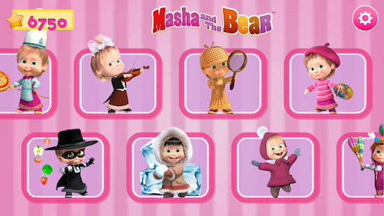 Masha and the Bear. Games & Activities 5.7 Screenshots 9