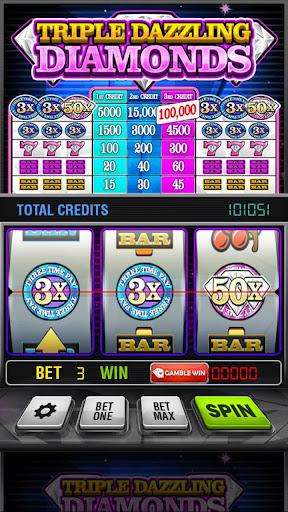 Triple Dazzling Diamonds Slots 2.853 screenshots 9