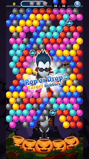 SPOOKIZ PANG: Bubble Shooting apkpoly screenshots 7