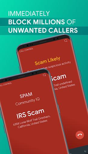 Call Control - SMS/Call Blocker. Block Spam Calls! 2.11.3 screenshots 2
