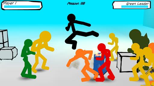 Stickman Street Fighting 1.06 screenshots 1