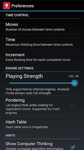 DroidFish Chess  Screenshots 6
