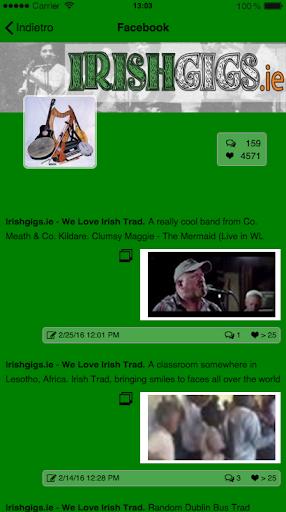 IrishGigs - We Love Irish Trad screenshots 3