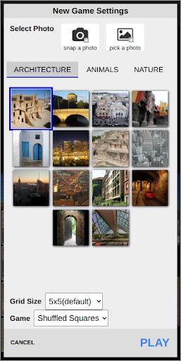 Photo Puzzle 1.3.4 screenshots 2