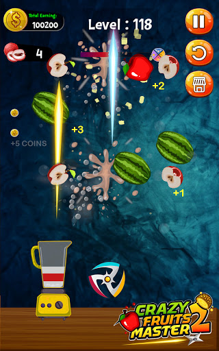 Crazy Juice Fruit Master:Fruit Slasher Ninja Games  screenshots 2