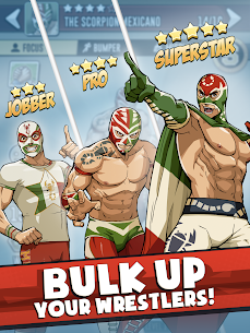 The Muscle Hustle: Slingshot Wrestling Mod Apk (Dumb Enemy/One Hit) 8