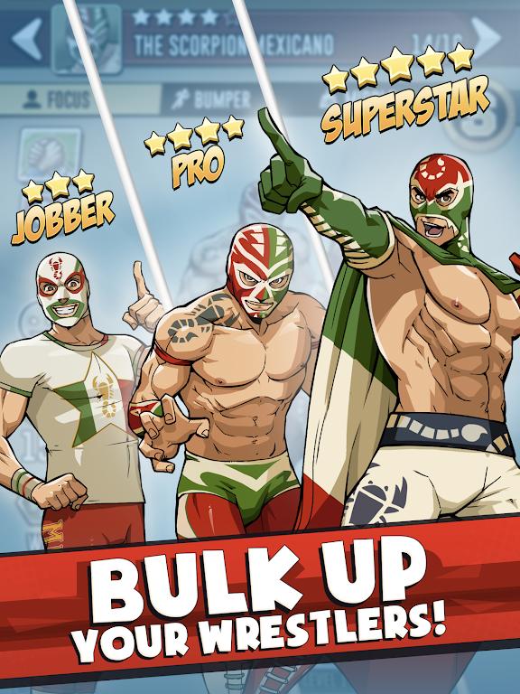 The Muscle Hustle: Slingshot Wrestling Game  poster 7