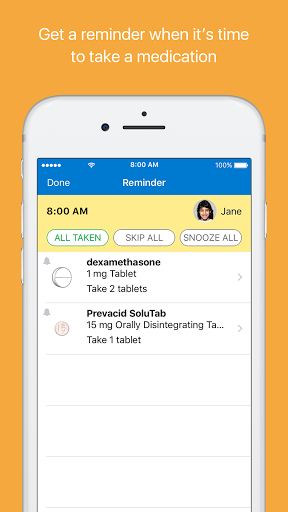 MyMedSchedule Plus 1.1.45 Screenshots 4