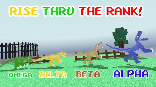 Blocky Dino Park: Raptor Attack  screenshots 2