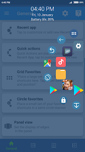Sidebar, Edge Screen, Shortcuts - Swiftly Switch 3.5.1