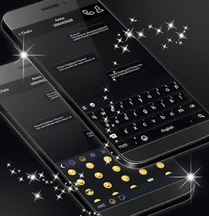 Black Style Keyboard 2020 MOD APK (Premium) 3