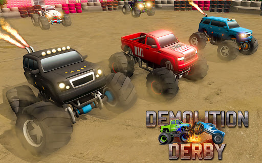 Demolition Derby 2021 - Monster Truck Destroyer modavailable screenshots 7