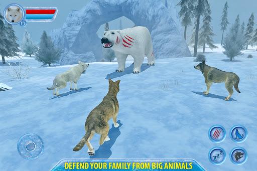 Arctic Wolf Sim 3D  screenshots 7