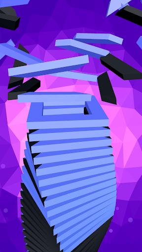 Télécharger Drop Stack Ball - Fall Helix Blast Crash 3D APK MOD (Astuce) screenshots 2
