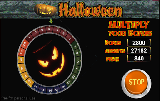 Slot Machine Halloween Lite 5.32 screenshots 7