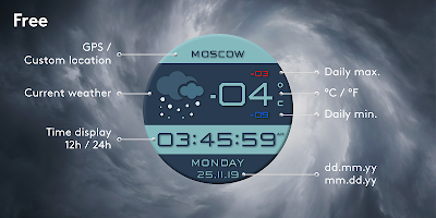 Weather Station Premium Watch Face